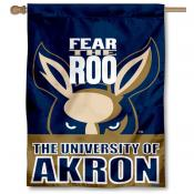 Akron Zips House Flag