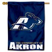 Akron Zips Polyester House Flag