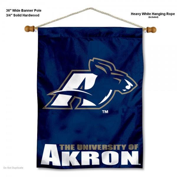 Akron Zips Wall Hanging