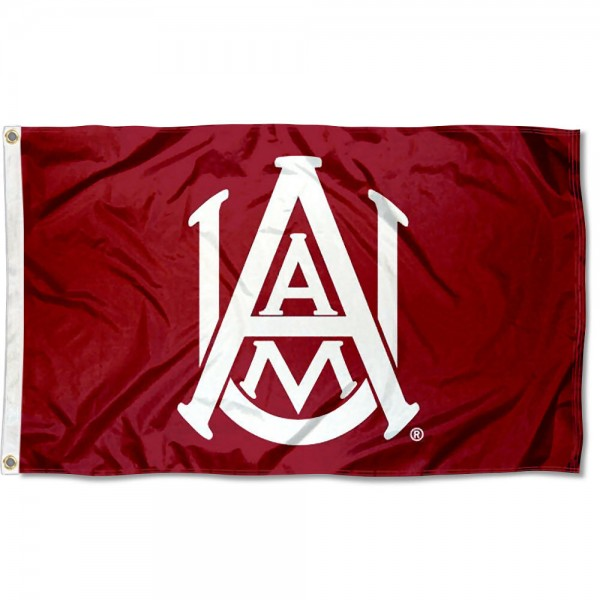 Alabama A&M Bulldogs Flag