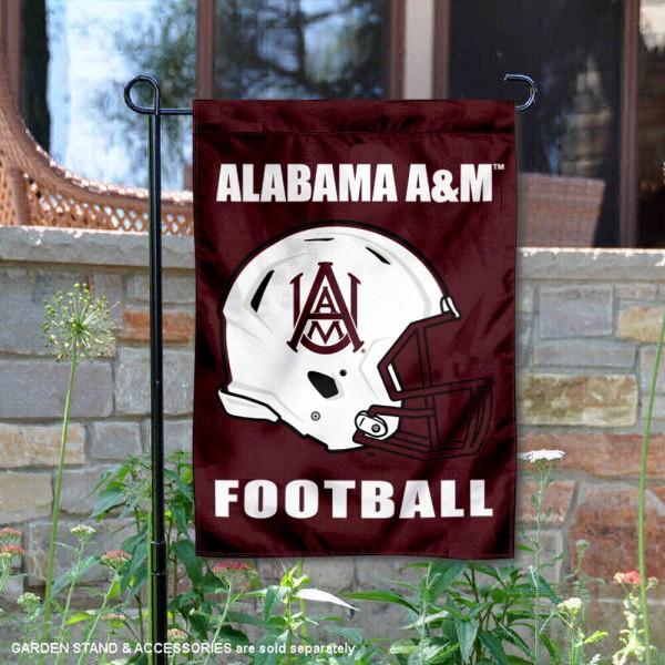 Alabama A&M Bulldogs Football Garden Flag