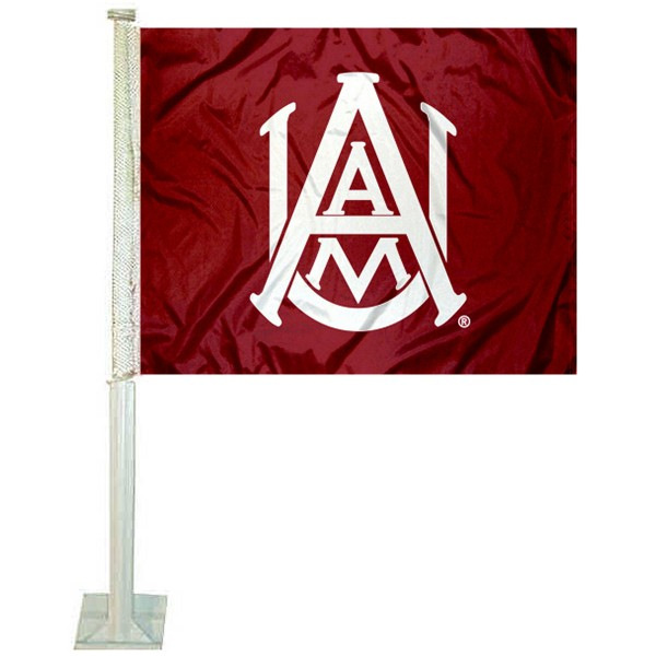 Alabama A&M University Car Flag