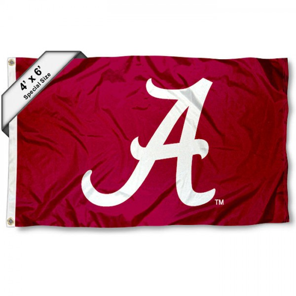 Alabama Crimson Tide 4' x 6' Flag