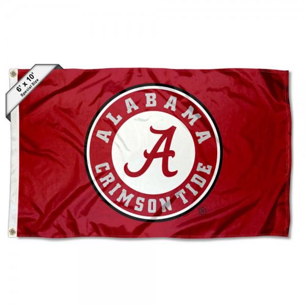 Alabama Crimson Tide 6 by 10 Foot Flag
