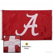 Alabama Crimson Tide Appliqued Nylon Flag