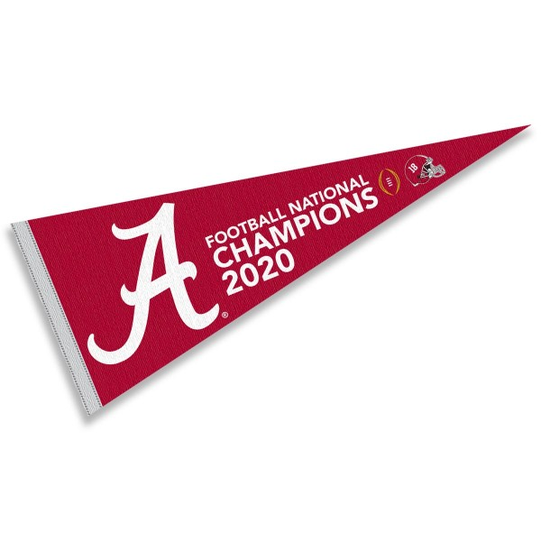 Alabama Crimson Tide College Football Playoff CFP Champions Pennant