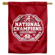 Alabama Crimson Tide College Football Playoff National Championship House Flag