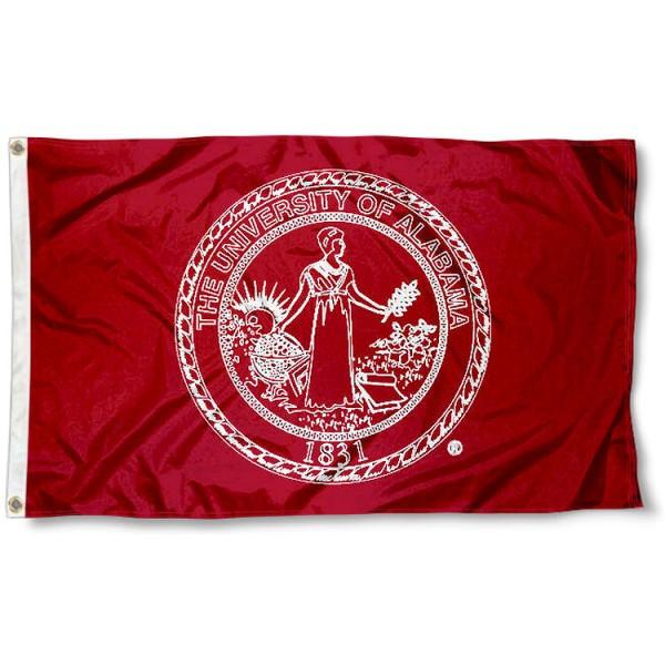 Alabama Crimson Tide Flag