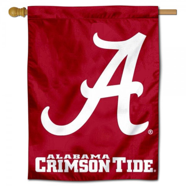 Alabama Crimson Tide House Flag
