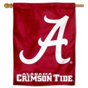 Alabama Crimson Tide House Flag