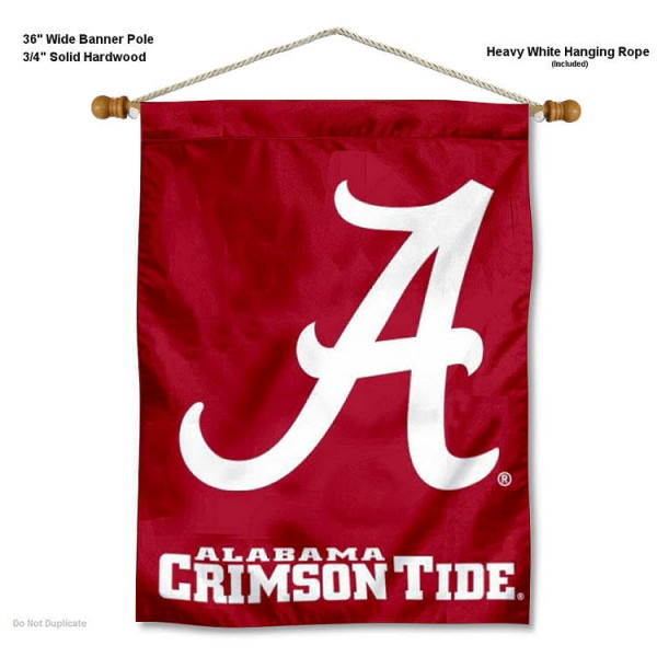 Alabama Crimson Tide Logo Wall Hanging