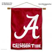 Alabama Crimson Tide Logo Wall Hanging