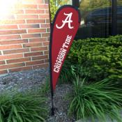 Alabama Crimson Tide Mini Teardrop Garden Flag
