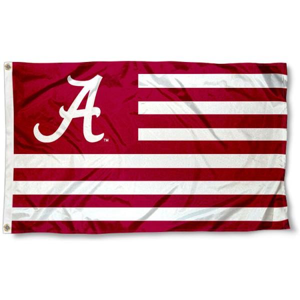 Alabama Crimson Tide Nation Flag