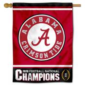 Alabama Crimson Tide National Football Champions House Flag