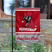 Alabama Crimson Tide Retro Throwback Garden Banner