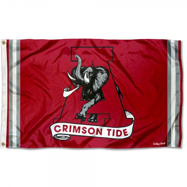 Alabama Crimson Tide Retro Vintage 3x5 Feet Banner Flag