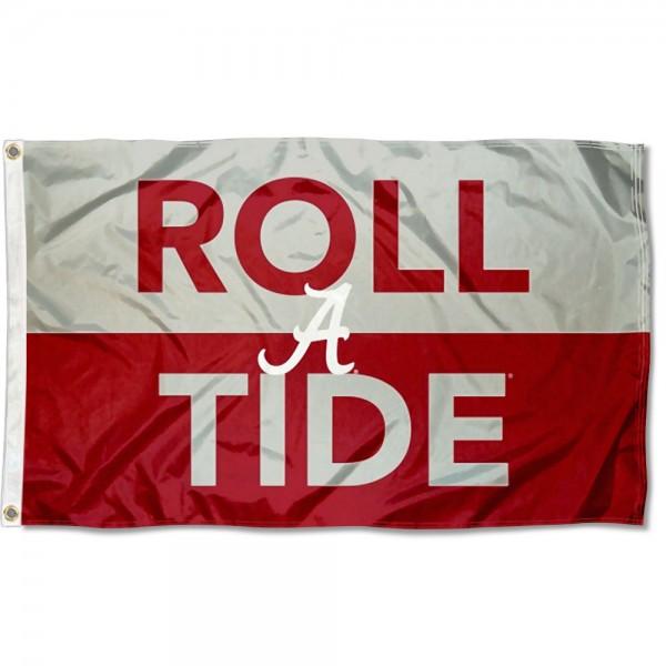 Alabama Crimson Tide Roll Tide Outdoor Flag
