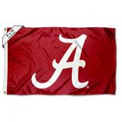 Alabama Crimson Tide Script A 6 by 10 Foot Flag