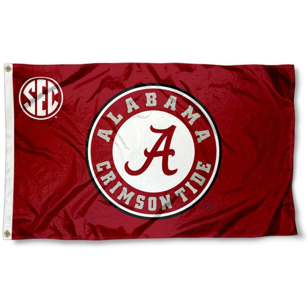 Alabama Crimson Tide SEC Flag