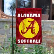 Alabama Crimson Tide Softball Garden Flag