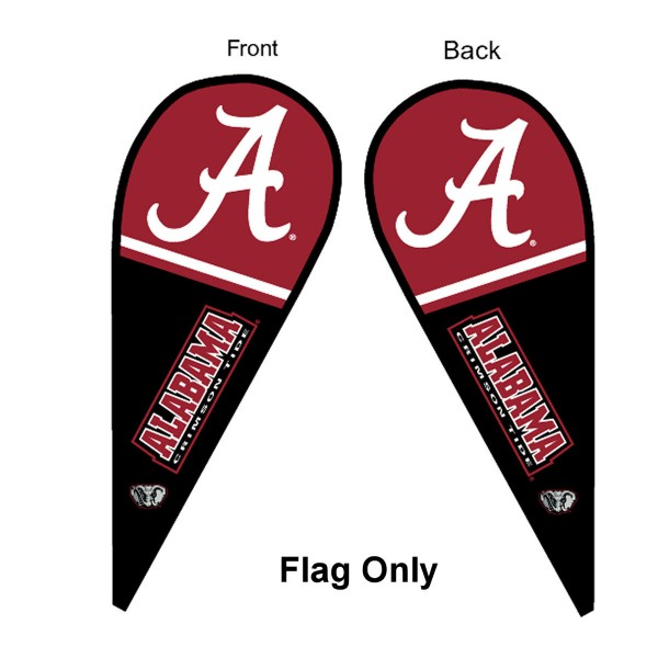 Alabama Crimson Tide Teardrop Flag