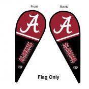 Alabama Crimson Tide Teardrop Flag