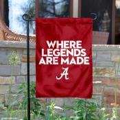Alabama Crimson Tide Where Legends Are Made Garden Banner