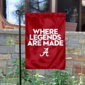 Alabama Crimson Tide Where Legends Are Made Garden Banner