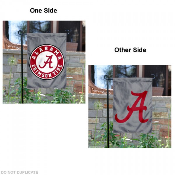Alabama Double Logo Garden Flag