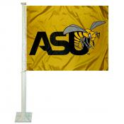 Alabama State Hornets Car Flag