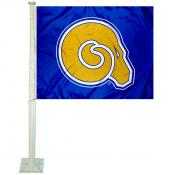 Albany State Golden Rams Car Flag