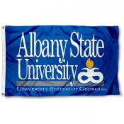 Albany State Golden Rams Flag