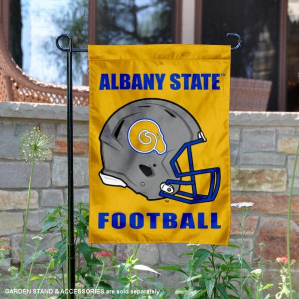 Albany State Golden Rams Football Garden Flag