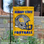 Albany State Golden Rams Football Garden Flag