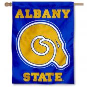 Albany State University Logo House Flag