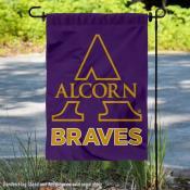 Alcorn State University Braves Double Sided Garden Flag