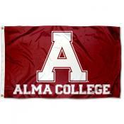 Alma College Flag
