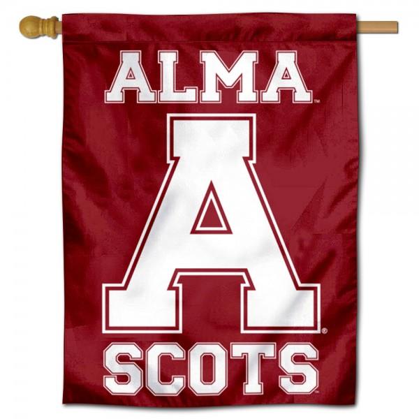 Alma College House Flag