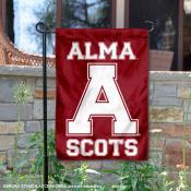 Alma College Scots Garden Flag