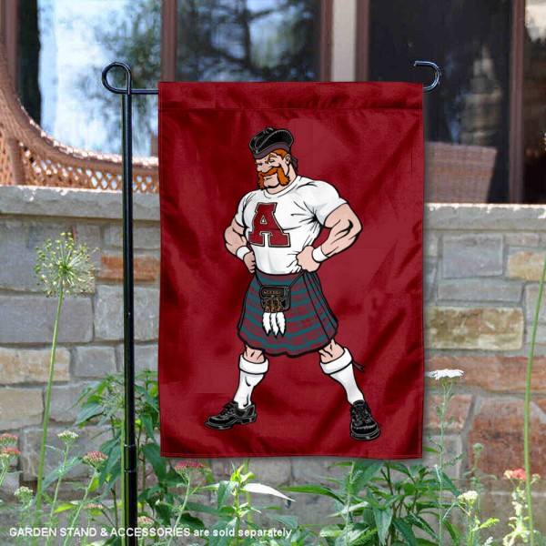 Alma College Scots Mascot Scotty Garden Flag
