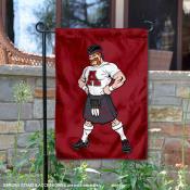 Alma College Scots Mascot Scotty Garden Flag