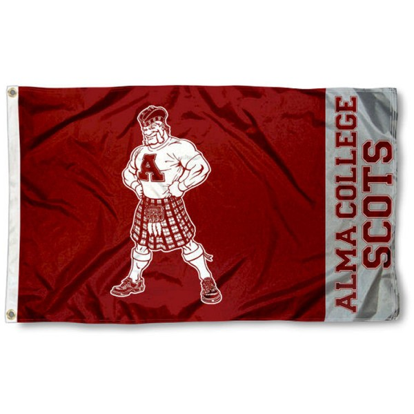 Alma Scots 3x5 Foot Flag