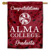 Alma Scots Graduation Banner
