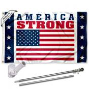 America Strong Workers 3x5 Flag Pole and Mount Kit