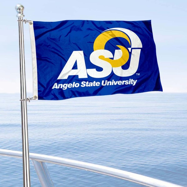 Angelo State Rams Boat Flag
