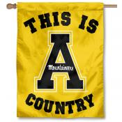 App State Mountaineers Country House Flag