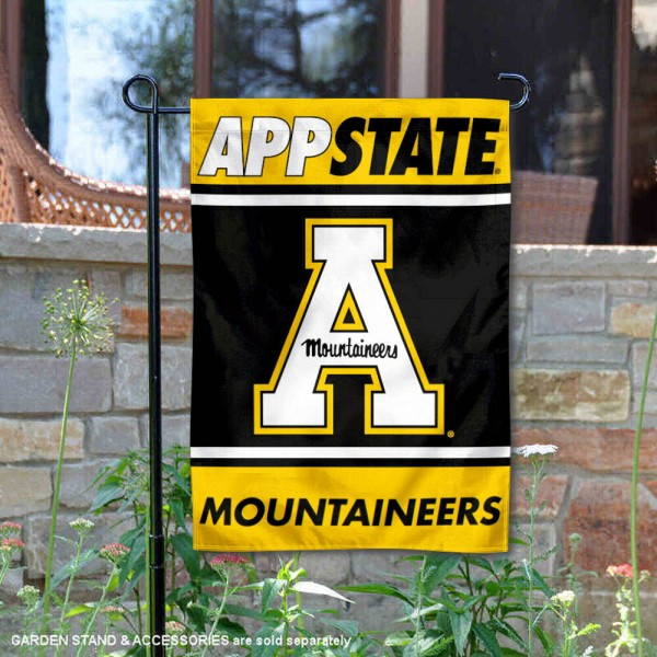 App State Mountaineers Garden Flag
