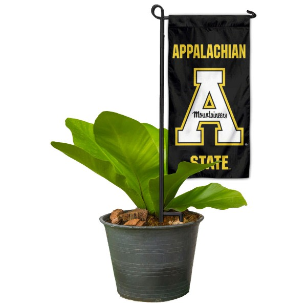 App State Mountaineers Mini Garden Flag Marker