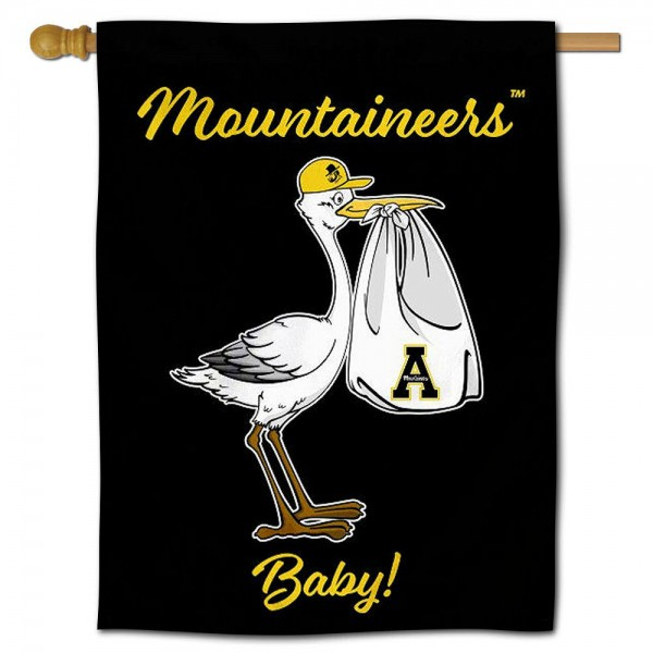 App State Mountaineers New Baby Banner